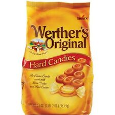2 LBS PLUS Werther's Original Hard Candies Individually wrapped 34 oz bag