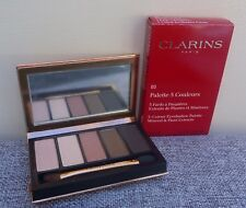 CLARINS 5-Colour Eyeshadow Palette, #03 Natural Glow, Brand New in Box!!