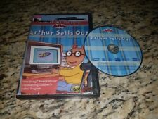 Arthur Sells Out DVD PBS Kids GO! 52 Min Running Time contains 4 Full Episodes!