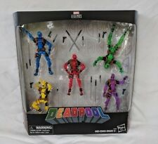 Marvel Legends Deadpool's Rainbow Squad 5-Pack 3.75 Inch - In Stock