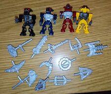 Lego Bionicle Mini Barraki Minifigures TOA armes 8925 8927
