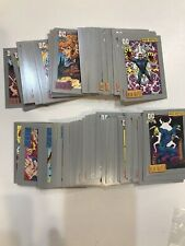 1991 DC Comics Trading Cards COMPLETE BASE SET #1-180 NM/M X