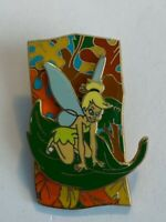 Tinker Bell Fall Leaves Collection 2005 Riding A Leaf Peter Pan Disney Pin (B6)