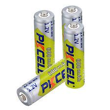 8PCS PKCELL 1.2V AA 600mah Batteries Ni-MH Rechargeable Battery