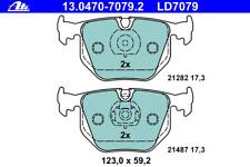 Bremsbelagsatz Scheibenbremse ATE Ceramic - ATE 13.0470-7079.2