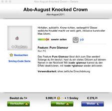 Knuddels.de Smiley - Knocked Crown