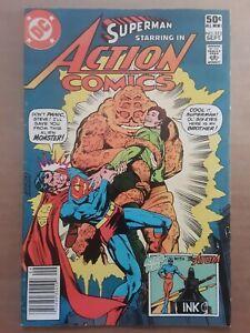 Action Comics #523 1 Comic Book Lot DC Superman