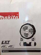 NEW Makita 18-Volt LXT Cordless Jobsite Fan (Tool-Only) BCF201Z 18V Power