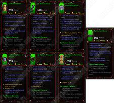Diablo 3 RoS XBOX ONE [SOFTCORE] Full Primal Tal Rashas Elements Wizard Set