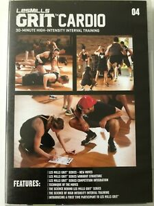 Les Mills Grit Cardio 04 - DVD, CD & choreo notes