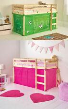 Letti e materassi verde tinta unita per bambini