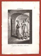 San Gabino Prete e Martire 19 Febbraio Gentilucci Roma 1843