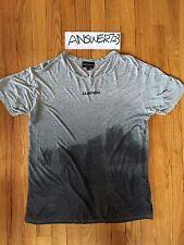 "Emporio Armani EA7 ""Lightness"" T-Shirt Grey Sz Small Ultra Thin Lightweight"
