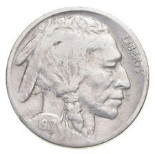 FULL HORN - High Grade - TOUGH - 1917 Buffalo Nickel - Sharp Coin! *962