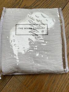White Company cushion cover Square 40x40cm white NEW Cotton Was £40 Copenhagen