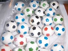 100  Super Cool  Soccer Ball Bouncy Ball Party Favors 1 inch