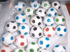 24  Super Cool  Toy Soccer Ball Bouncy Ball Party Favors 1 inch