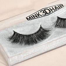 Eyelashes Soft Design 3D 100% Real Mink False Cross Messy Eye Lashes 1 Pairs CHI