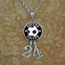 Soccer Number Necklace/ custom