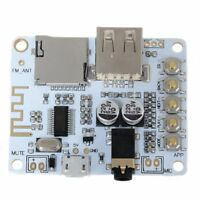 5V Wireless Bluetooth 4.1 Audio Receiver Module Car Speaker Circuit Board DIY C#