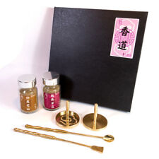 Shape Incense Mold Tool Gift Box - Brass Cloud Shape Tools + 2 Incense Powders