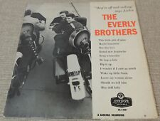 """EVERLY BROTHERS - """"S/T"""" LP 1958 London Records  