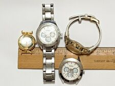 4 LOT OF FOSSIL WATCHES 5ATM ES3052 MOTHER OF PEARL