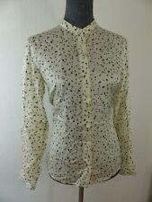 Neue Marc O´Polo Damen Casual Bluse Gr 34 Creme Weiß mit Blumen NEU/OVP