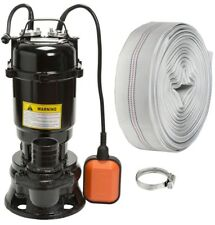 IBO VIPER550W Submersible Sewage Dirty Water Septic Pump Float Switch + 20m hose
