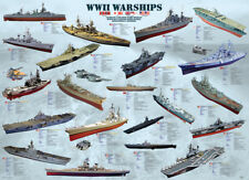 Eurographics Puzzle 500 Pc - World War II Warships