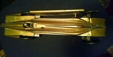 *RARE* 1920s - 30s Tin Wind Up Kingsbury Toy Golden Arrow Land Speed Race Car