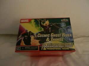 HeroClix Cosmic Ghost Rider & Thanos Marvel Convention Exclusive LE 2021 MP20