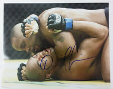 Daniel Cormier Signature Signed Autograph 8x10 Photo Beating Anderson Silva
