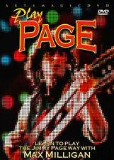 ArtsMagic PLAY GUITAR Led Zeppelin JIMMY PAGE WAY Lessons Video DVD Max Milligan