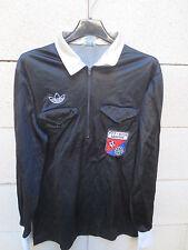VINTAGE Maillot porté ADIDAS ARBITRE FFF AUDE Referee match worn shirt VENTEX