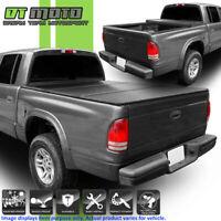 "Hard Tri-Fold Tonneau Cover For 1997-2004 Dodge Dakota Cab Truck 6.5FT (78"") Bed"