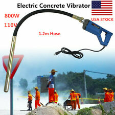800W Hand Held Concrete Vibrator Air Bubbles Level Remover Tool 1.2m Hose 110V