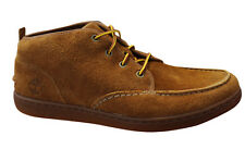 Timberland Mens Newmarket Chukka Lace Up Shoe Loafer Casual Wheat 6055R T3