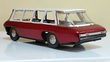 VINTAGE BUS AIRPORT LIMOUSINE MF 131 TIN TOY 60's SHUTTLE COACH FRICTION CHINA