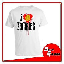 I love Zombies Zombie WARM BODIES T-SHIRT SHORT SLEEVE S - M - L - XL - XXL