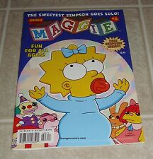 Maggie #1 Matt Groening Variant Edition 1st Print The Simpsons