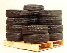 Custom Tires (15) w Pallet Miniatures for your 1/32 1/24 or G Diorama Builds.