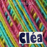 1000m CLEA1000_9976 V. MIXED COLOURS #10 155g Crochet Cotton Soft Knitting Yarn