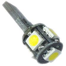 1 Ampoule rouge T10 W5W C10W 5 leds 5050 SMD anti-erreur ODB