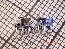 D2F-01L Miniatur Microswitch 30VDC 100mA OMRON