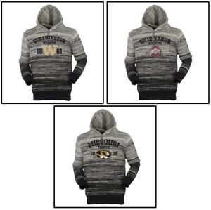 Gradient Hooded Sweater Washington Huskies, Ohio State, Missouri Tigers
