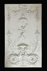 The Barbedienne Bas-relief - Classic French Relief - Classical Wall Sculpture