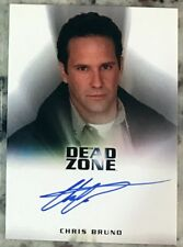 Chris Bruno Autograph Auto Card Dead Zone as Walter Bannerman