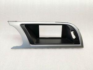 Audi A5 8T Rahmen Abdeckung Blende für Navi Display Monitor 8T1857186G