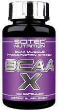 Scitec Nutrition BCAA X Essencial BCAA Amino Acids 120caps. - free shipping !